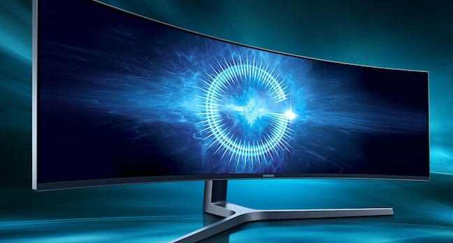 samsung chg 90 monitor - Samsung releases 49-inch desktop monitor with 32:9 aspect ratio