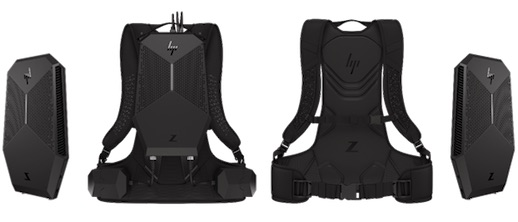 HP's Z VR Backpack PC
