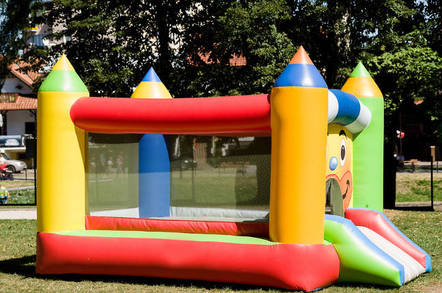bouncy castle shutterstock - MoD brainbox repo opens up IP treasure chest for world+dog
