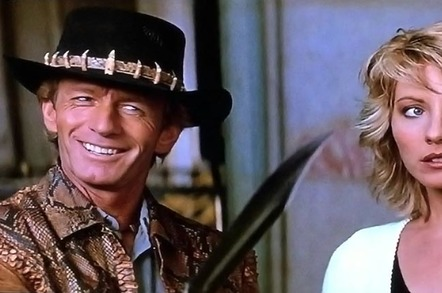 crocodile dundee 765 - HPE: You're rubbish at hybrid cloud – so we'll cook a NüStack to fix it