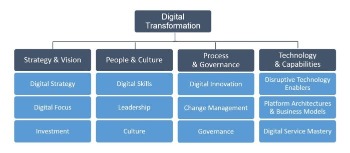 evans figure c - Assessing your organization's digital transformation maturity