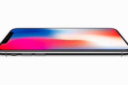 iphonex side - Apple's iPhone X won't experience the joy of 6…