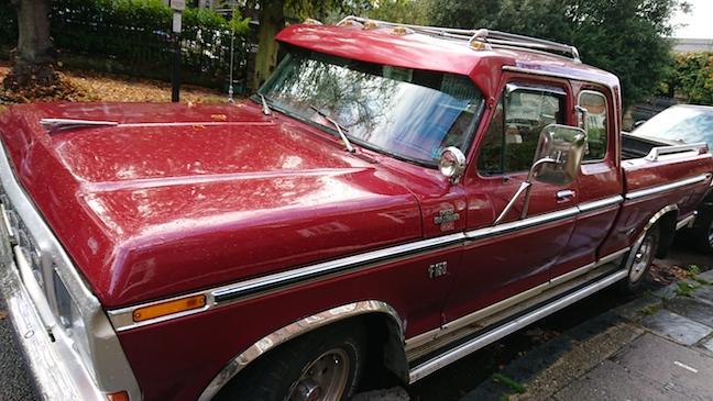 Photo Sample: Vintage Car