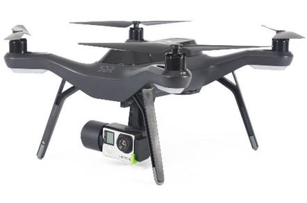 3dr solo drone gopro - Drone crashes after operator failed to spot extra building site crane