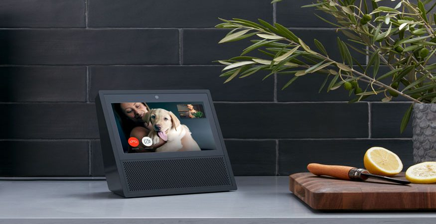 Amazon eco with screen 875x450 - Coty Launches Amazon Echo Virtual Beauty Experience