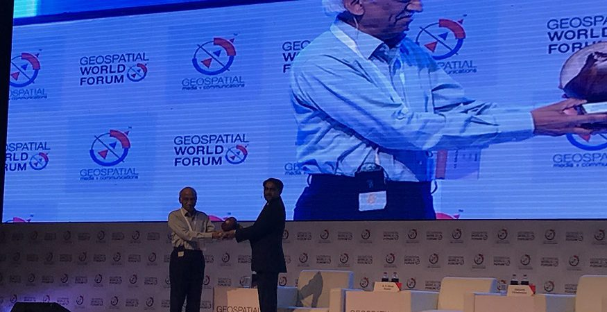 Geospatial World Leadership Awards 2018 875x450 - Former ISRO Chairman AS Kiran Kumar Wins 'Special Achievement Award' at Geospatial World Forum 2018