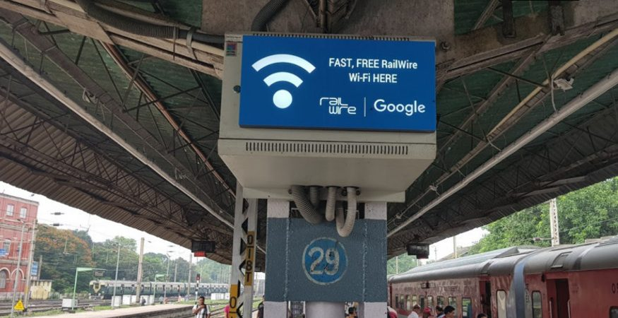 Google Railwire Free Wifi Indian Railways Stations 875x450 - Google Launches 150 Google Station WiFi Hotspots In Pune