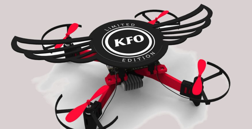 KFC drone pack 875x450 - KFC Will Gift Wrap Smoky Grilled Wings With a Drone That Actually Flies