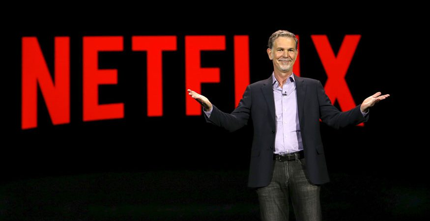 Netflix CEO reuters 875x450 - Netflix's 'Original Content' Strategy Works Wonders; Crosses $100 Billion Market Capitalisation