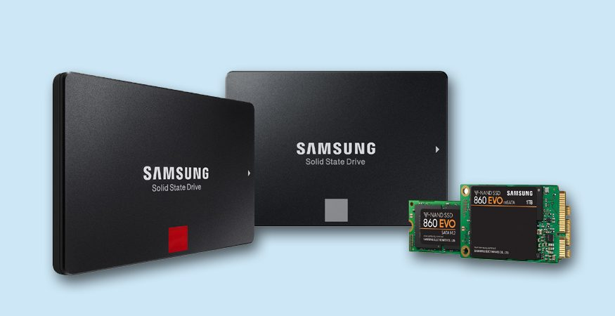 Samsung Solid State Drive Family 875x450 - Samsung Launches 860 PRO, 860 EVO Solid State Drives in India Starting at Rs 8,750