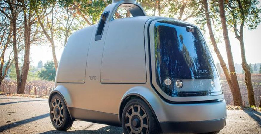 autonomous car 875x450 - California Start-up Nuro Raises $92 Million For Autonomous Delivery Vehicles