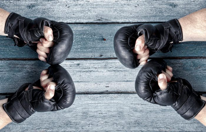 boxing gloves fight battle knockout 100745557 large 700x450 - The battle between ERP and CRM for B2B commerce