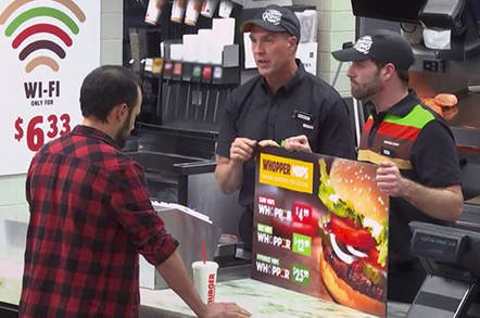 burger king net neutrality - You want wires with that? Burger King backs, er, net neutrality