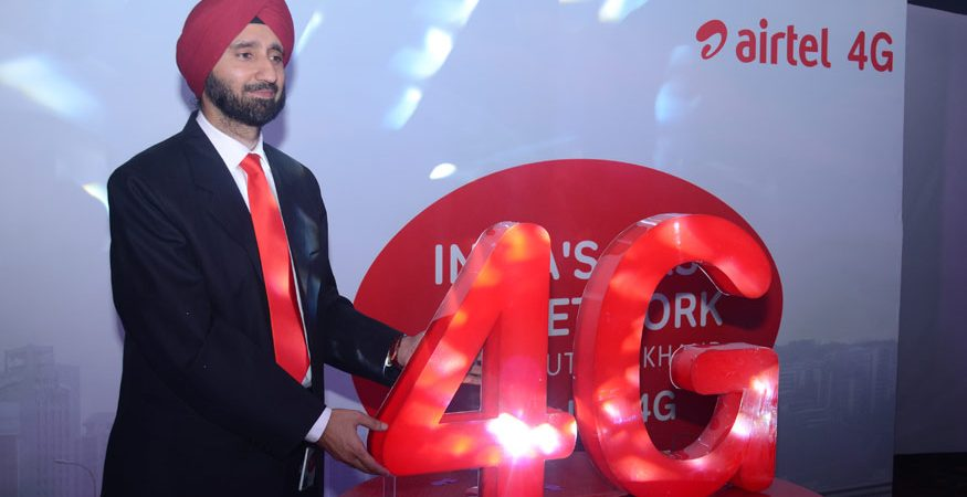 Airtel 4G 875x450 - 4G Steered 82% of Indian Mobile Data Traffic in 2017: Report