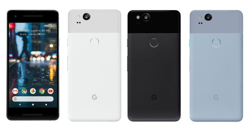 Google Pixel 2 and Pixel 2 XL 1 875x450 - Google Shipped 3.9 Million Pixel Devices in 2017