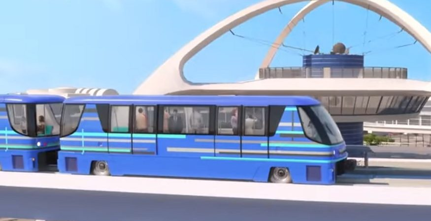 LAX Automated Transit System 875x450 - 'Automated People Mover' Shuttle Service to Open in Los Angeles Airport by 2023