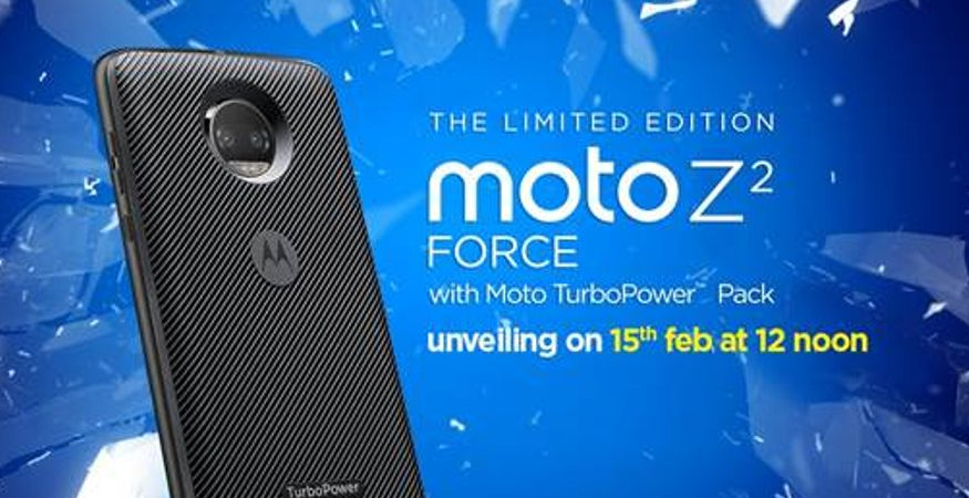 Moto Z2 Force 875x450 - Motorola Moto Z2 Force With 'Shatterproof' Display, Moto Mods to Launch on Feb 15