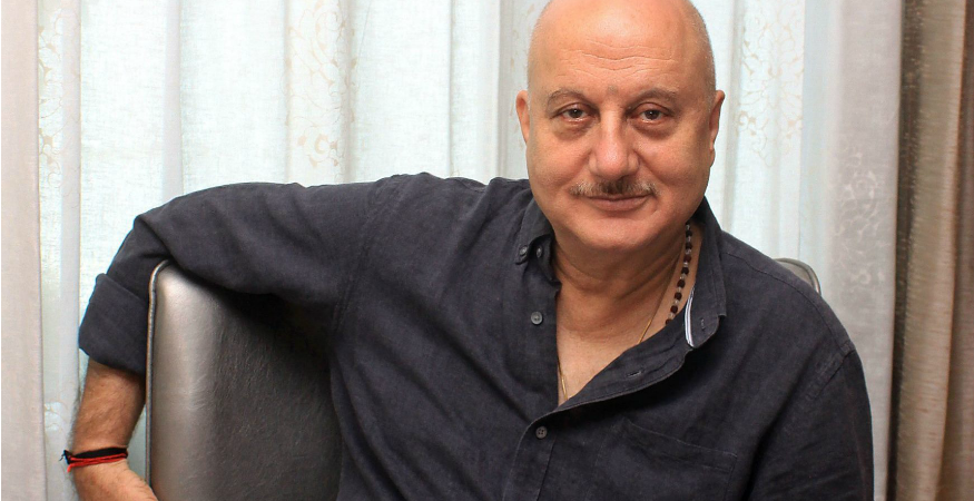 anupam kher1 875x450 - Anupam Kher's Twitter Account Suspended After Hackers Tweet 'I Love Pakistan' From His Handle