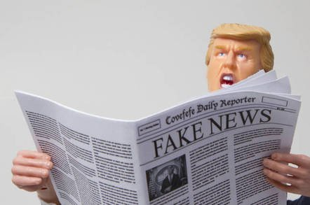 donald trump reading fake news shutterstock editorial use only - A game to 'vaccinate' people against fake news? Umm… Fake news