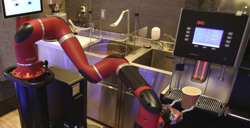 japan 875x450 - Robot Makes Coffee at New Cafe in Japan's Capital