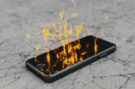 phone burn shutterstock - Tensorflow Lite: Neat, but an ordeal to get running on your mobe
