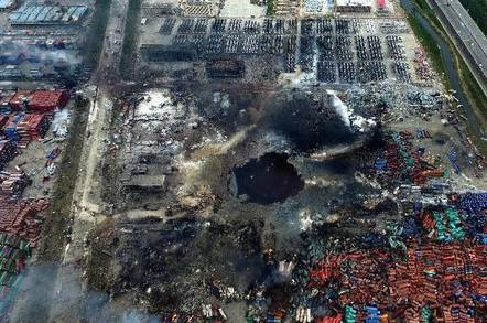 tianjin blast zone - Infinidat techie: Let me tell you a thing or two about ruler-format SSDs
