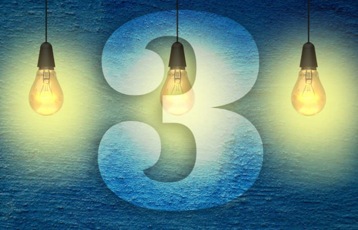 3 lightbulbs with the number three 100750839 large 700x450 - The 3 biggest opportunities to improve your services operations in 2018