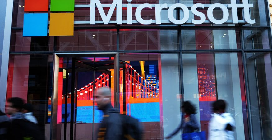 Microsoft Logo 875x450 - Microsoft to Hardsell AI to Transform Indian Businesses