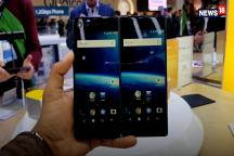 ZTE Axon M First Look at MWC 2018