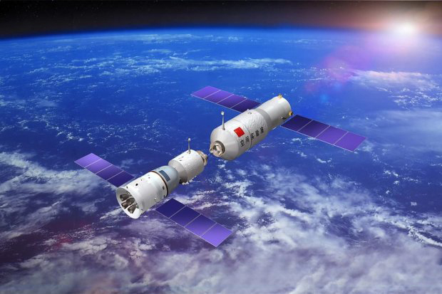 Tiangong 1 Space Station - Out of Control Chinese Space Station 'Tiangong-1' to Crash to Earth Within Weeks