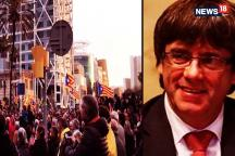 Protests in Barcelona after Catalonia ex-leader Carles Puigdemont is detained