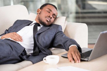 asleep on the sofa image via shutterstock - Wow, machine learning, what a snoozefest… less so if you strap a bunch of GPUs to your storage
