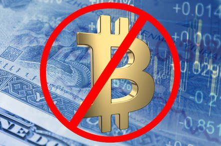bitcoin ban shutterstock - Crypt-NO-coins: US city bans mining funbux on its electrical power grid