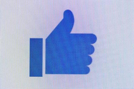 facebook thumb shutterstock editorial only - You'll like this: Facebook probed by US watchdog amid privacy storm