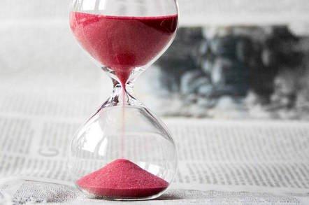 hourglass - Supermicro praying for Nasdaq time