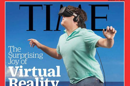 luckeytimecovertitle - Oculus Rift whiffed, VR fanbois miffed