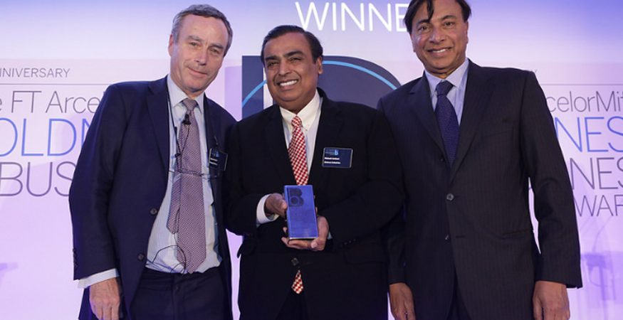 mukesh ambani  875x450 - Reliance Industries Wins FT ArcelorMittal Boldness in Business Awards