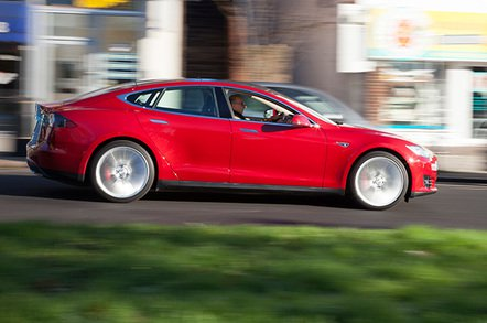tesla s p85 plus - More power to UK, say 'leccy vehicle makers. Seriously, they need it