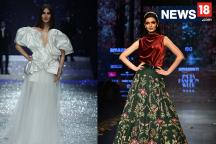 AIFWAW18 Day 1: Diana Penty, Vaani Kapoor Sizzle On The Ramp As Designers Showcase Their Collection