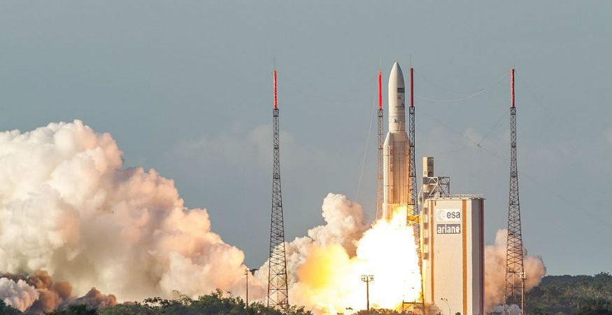 GSAT 18 875x450 - GSAT-6A Satellite Could Become Space Debris if Link Not Established: ISRO