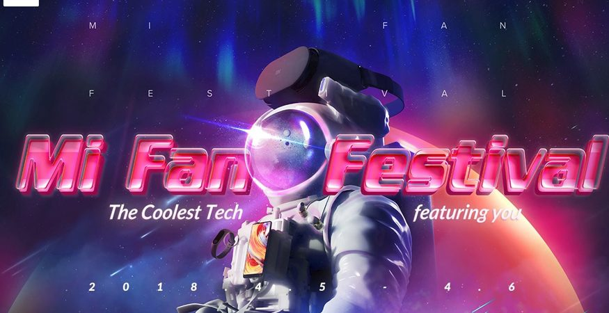 MI FAN FESTIVAL  875x450 - Xiaomi Announces Mi Fan Festival: Discounts on Mi TVs, Mi Mix 2, Redmi Note 5 Pro And More