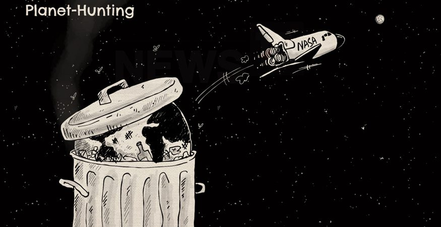 NASA planet hunting cartoon 875x450 - Are We Alone? NASA's TESS Spacecraft Takes Off Onboard SpaceX Rocket to Hunt for the Answer