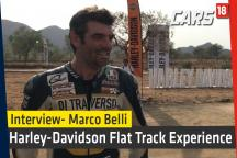 Harley Davidson Flat Track Experience With Marco Belli