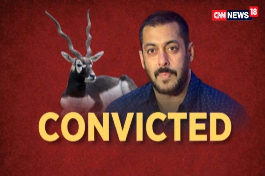 Salman Khan Convicted in Blackbuck Poaching Case, Gets 5-Year Jail