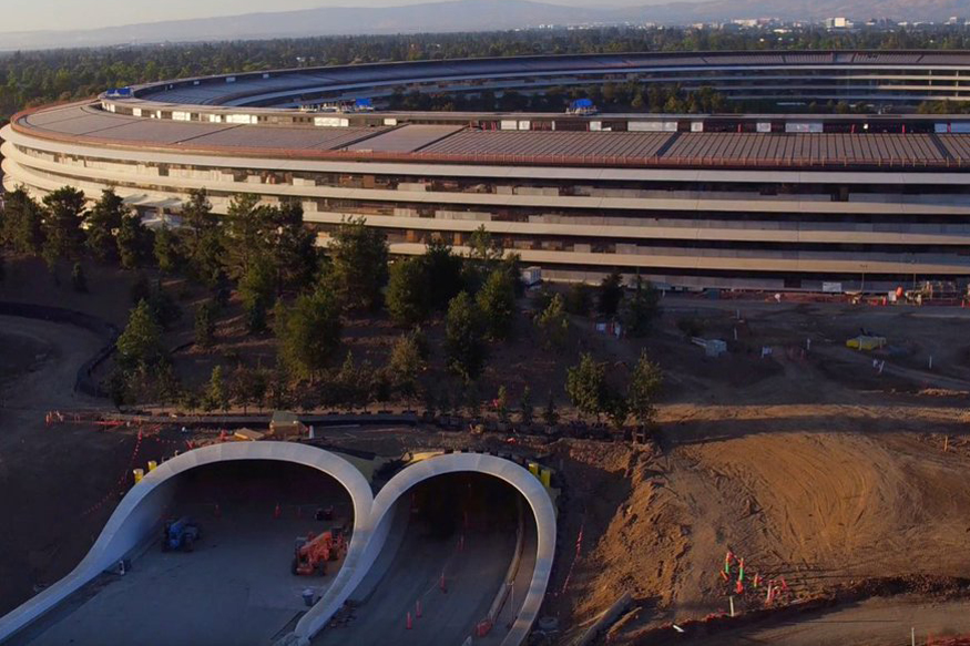 Apple Park, Apple iPhone 8 Launch, Apple Park Campus