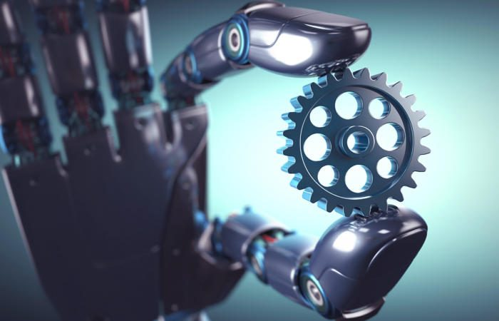 robot gear automation thinkstock 606703118 3x2 100732427 large 700x450 - Merging with the machine