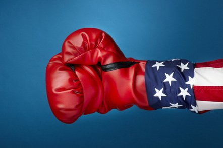 us boxing glove photo via shutterstock - Floyd Mayweather-endorsed cryptocoin startup knocked out by fraud allegations