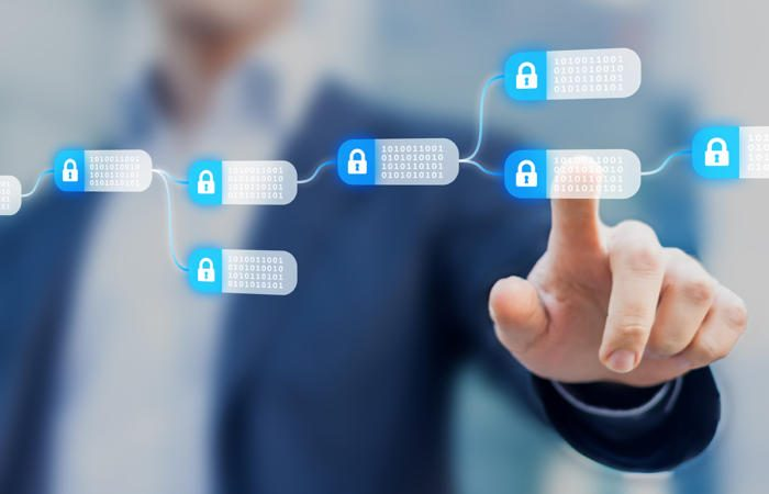 blockchain encrypted blocks thinkstock 849254008 100749758 large 700x450 - How blockchain can address the two biggest challenges in healthcare IT