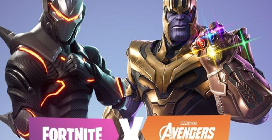 fortnite x avengers 875x450 - Avengers' Thanos Crosses Into Fortnite in Battle Royale Bonus Round; 'PUBG' Names Map, 'Dota 2' Mode