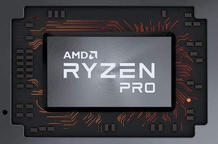 handout amd ryzen pro logo - Cheap-ish. Not Intel. Nice graphics. Pick, er, 3: AMD touts Ryzen Pro processors for business